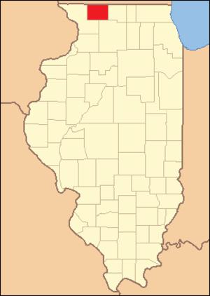 Stephenson County, Illinois - Image: Stephenson County Illinois 1837