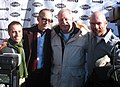 Steven Gutwillig, John Waters, Armistead Maupin, and Terry Anderson at 2006 Sundance Film Festival.jpg