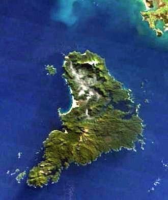 Stewart Island - Satellite image of Stewart Island/Rakiura