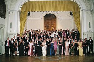 Ball anläßlich des 145. Stiftungsfestes des Co...