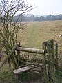 Stile and Footpath to Boxley Church - geograph.org.uk - 1088785.jpg
