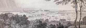 1841 in Sweden - Stockholmspanorama 1841