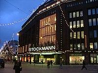 Stockmann, Helsinki centre - Wikipedia, the free encyclopedia