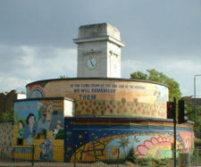 Stockwell war memorial and shelter