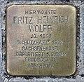 Stolperstein Dresdener Str 95 (Mitte) Fritz Heinrich Wolff.jpg