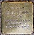 Stolperstein Fredericiastr 8 (Westend) Julius Netheim.jpg
