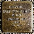 Stolperstein Josef Wertheimer Kehl.jpg