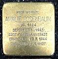 Stolperstein Kleve Hagsche Straße 27 Amalie Rosenbaum.jpg