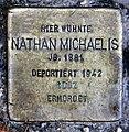 Stolperstein Taunusstr 20 (Fried) Nathan Michaelis.jpg