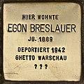 Stolperstein für Egon Breslauer (Cottbus).jpg