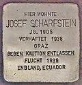 Stolperstein für Josef Scharfstein (Graz).jpg