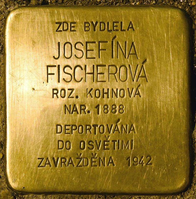Stolperstein für Josefina Fischerova.jpg