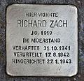 Stolperstein für Richard Zach.JPG