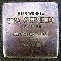 Stolpersteine Dortmund Evinger Straße 487 Erna Sternberg.jpg