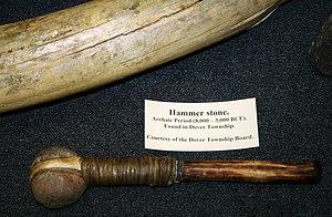Hammer - Image: Stone Hammer Dover MN