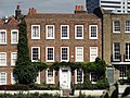 Strand on the Green, Chiswick, London, England -blue plaque for Johann Zoffany-31Aug2010.jpg