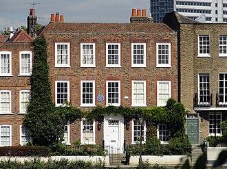 Johan Zoffany - Johan Zoffany's former house at Strand-on-the-Green, London