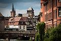 Strasbourg Petite France vue du Pont Saint Thomas juin 2013.jpg