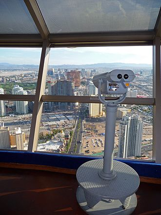 Stratosphere Las Vegas - View from the top