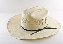 04be793b850fe Cowboy hat - Wikipedia