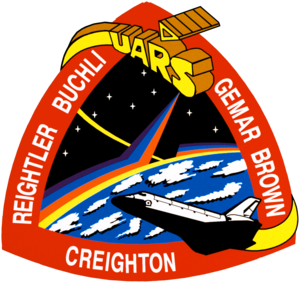 John Oliver Creighton - Image: Sts 48 patch