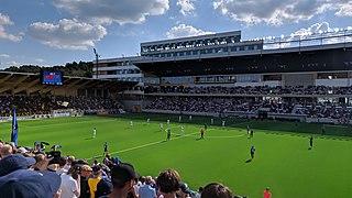 Studenternas IP sports ground in Uppsala, Sweden