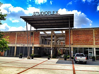 Old Fourth Ward - Studioplex, one of many converted industrial spaces in the Ward along and near the BeltLine