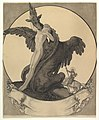 Study for a Bookplate with St. George Rescuing a Maiden from a Dragon MET DP819621.jpg