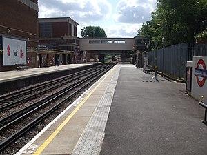 Sudbury Hill tube station - Image: Sudbury Hill stn eastbound
