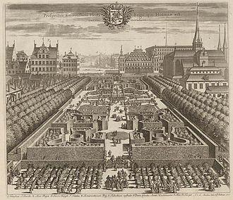 1699 in Sweden - Suecia 1-032 ; Kungsträdgården-Dahlberg