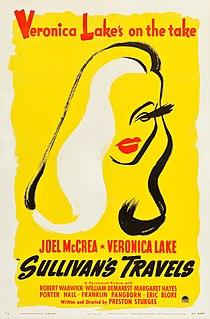<i>Sullivans Travels</i> 1941 film by Preston Sturges