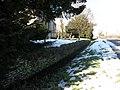 Sunken wall at Folksworth church - geograph.org.uk - 1162717.jpg