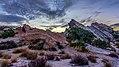 Sunrise at Vasquez Rocks Natural Area (30806466832).jpg