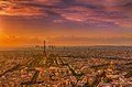 Sunset over Paris 6, France August 2013.jpg