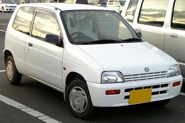 Suzuki Alto - Howling Pixel