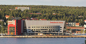 Fjällräven Center - Image: Swedbank Arena View From Bay