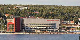 Fjällräven Center - Image: Swedbank Arena View From Bay