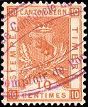 Switzerland Bern 1892-1902 revenue 10c - 39A IX-01.jpg