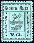 Switzerland Madretsch 1903 revenue 75c - 4.jpg