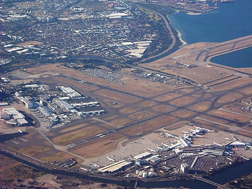 Sydney Airport (2004) By Air