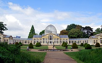 Conservatory (greenhouse) - Image: Syon House Conservatory, London