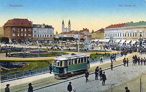 Subotica - Subotica (Szabadka) in 1914 Hungarian postcard