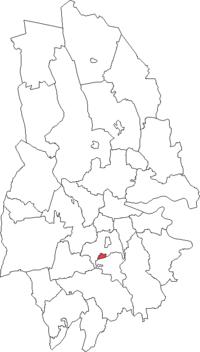 Hallsbergs købstad i Örebro amt