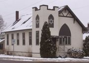 Temple Sholom synagogue in Eau Claire