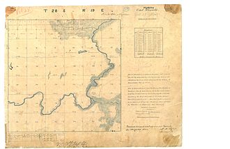 Hillsborough River (Florida) - Survey of the middle Hillsborough River in 1843