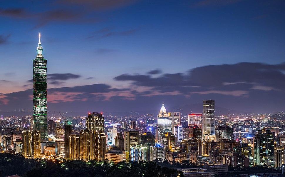 Taipei Skyline 2015
