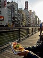 Takoyaki on the Canal - Osaka (40354855560).jpg