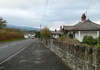 Thorpe affair - The village of Talybont, North Wales, where Scott lived in 1971