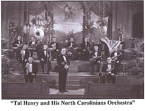 Tal Henry and His North Carolinians Orchestra 1928.jpg