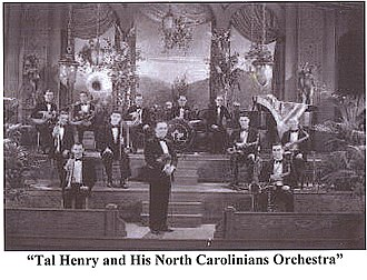 Tal Henry - Image: Tal Henry and His North Carolinians Orchestra 1928